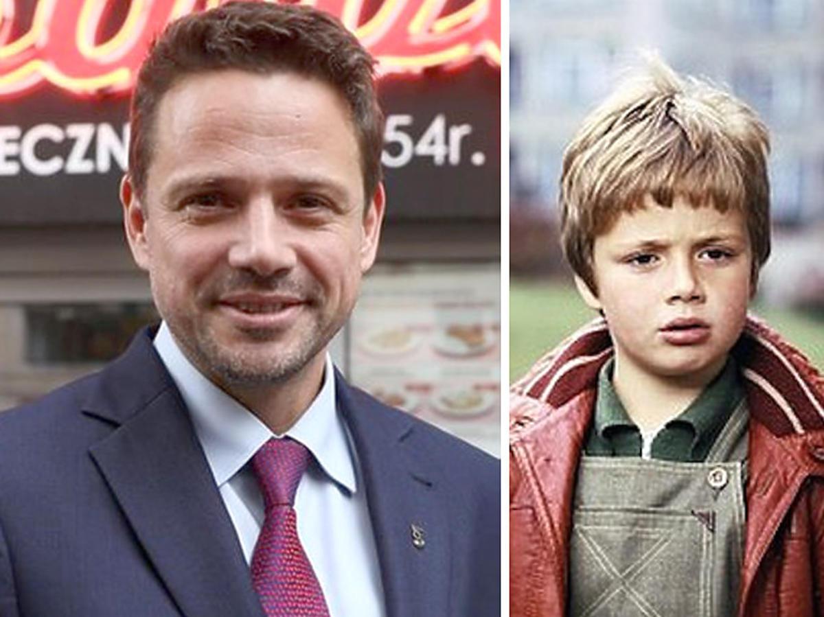 Rafał Trzaskowski w dzieciństwie wystąpił w serialu
