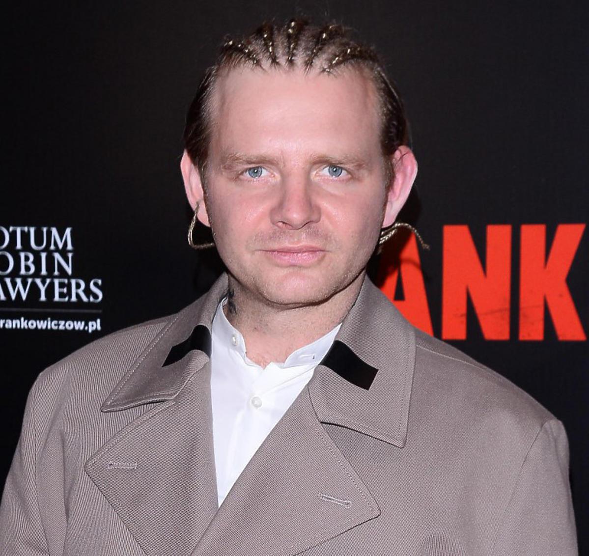 Rafał Zawierucha na premierze filmu