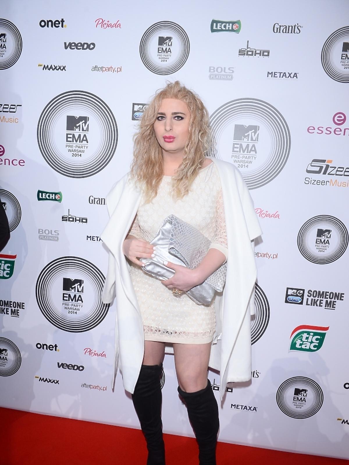 Rafalala na MTV EMA Pre-Party 2014