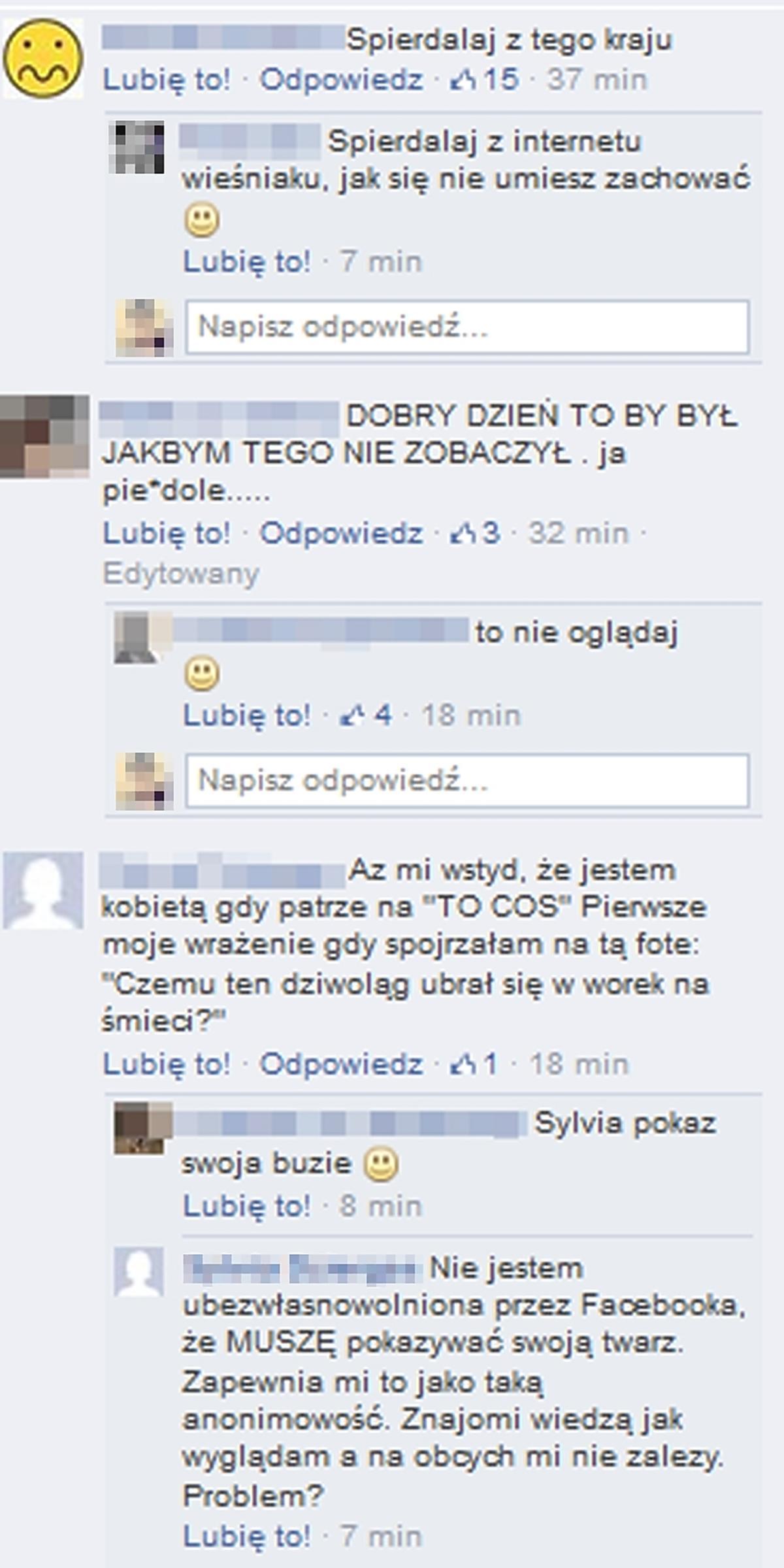 Rafalala prowokuje narodowców na Facebooku