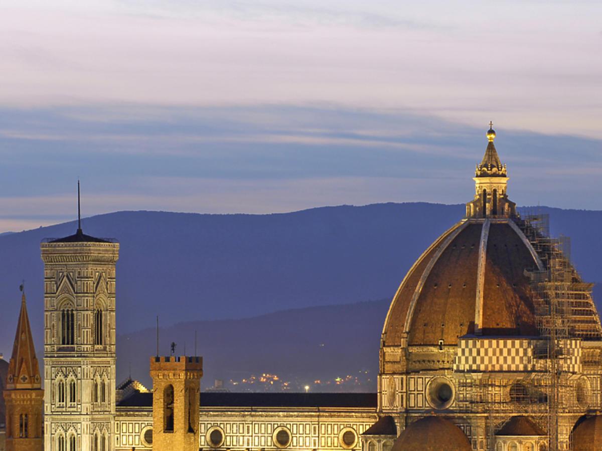 Rajd Mille Miglia, Florencja
