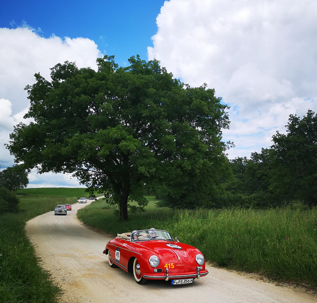 Rajd Mille Miglia, Toskania