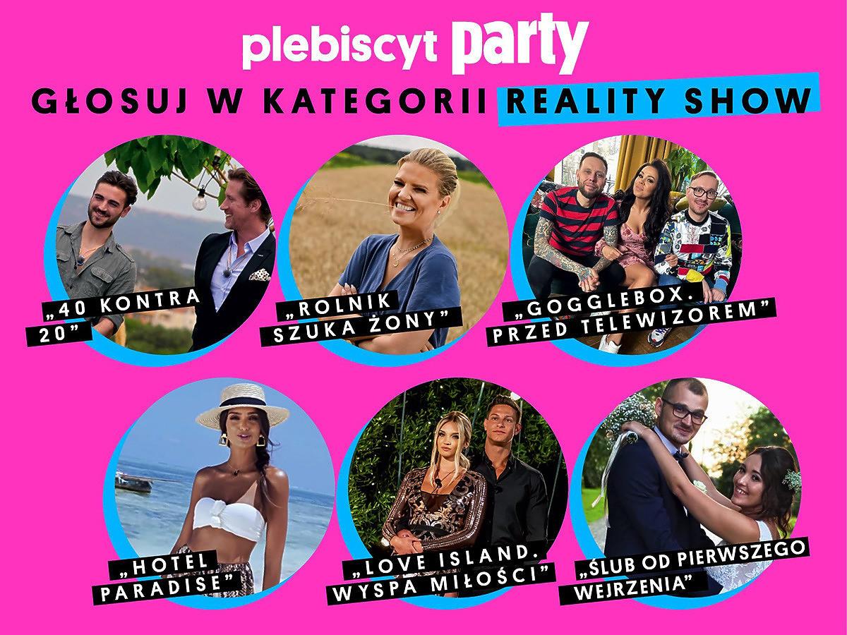 Reality show plebiscyt Party 2021