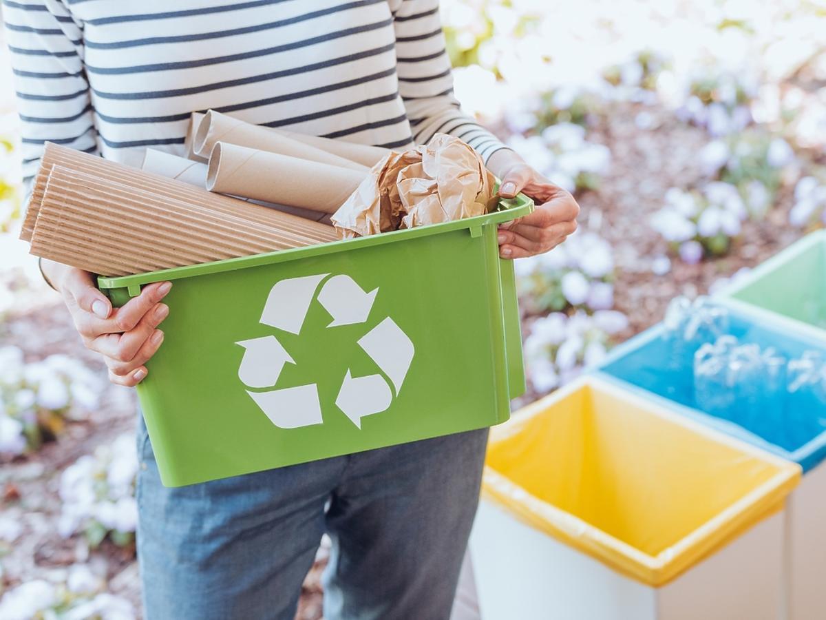 Recykling w domu.
