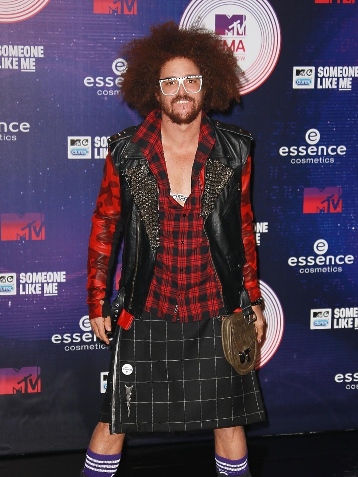 Red Foo na MTV EMA 2014 w Glasgow