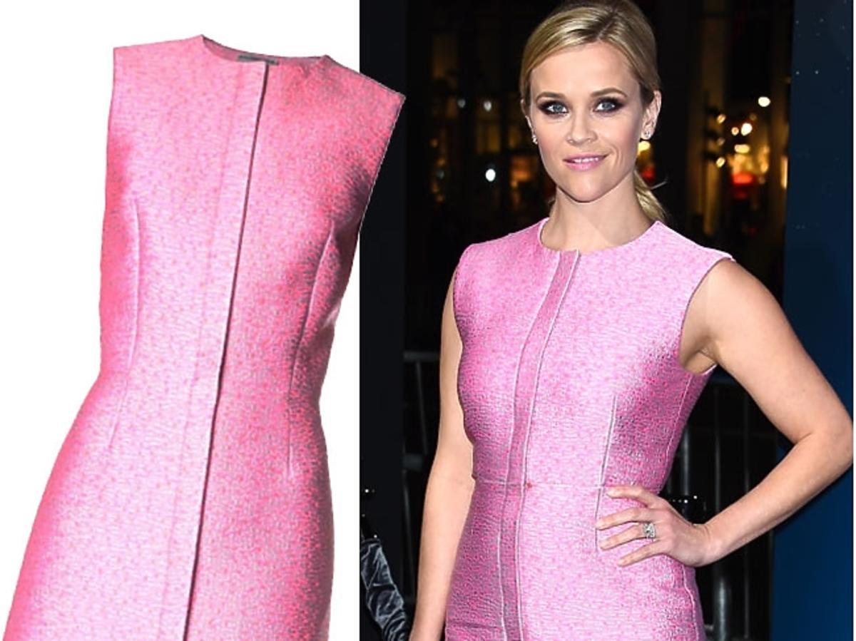 Reese Witherspoon w różowej sukience