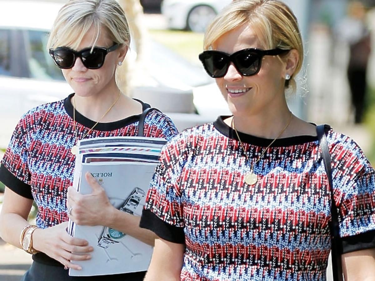 Reese Witherspoon w szortach