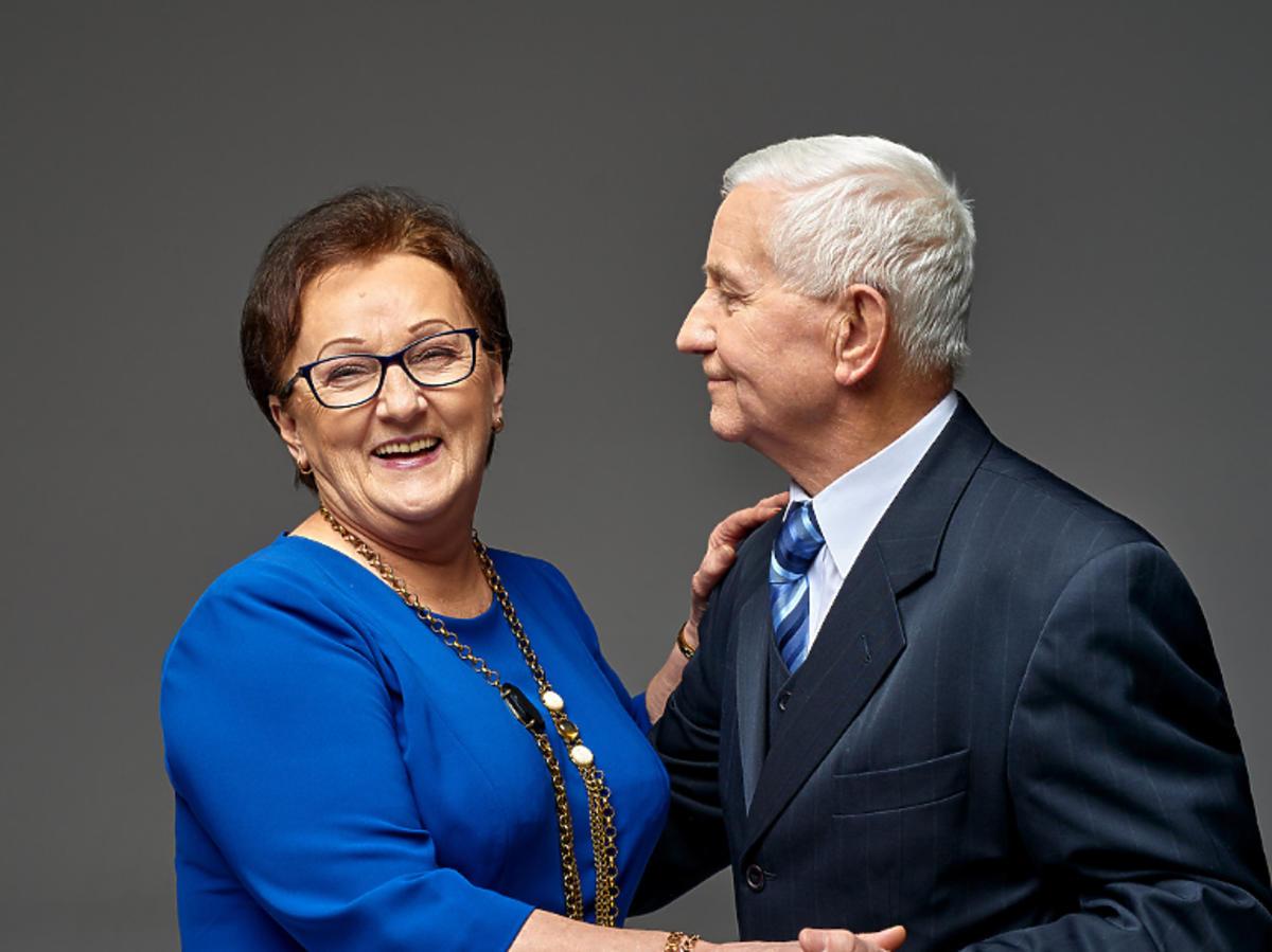 Regina Krasnowska i Józef Ponceleusz z