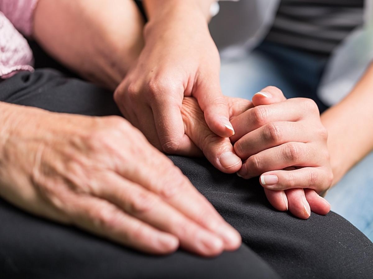 ręka na ręce