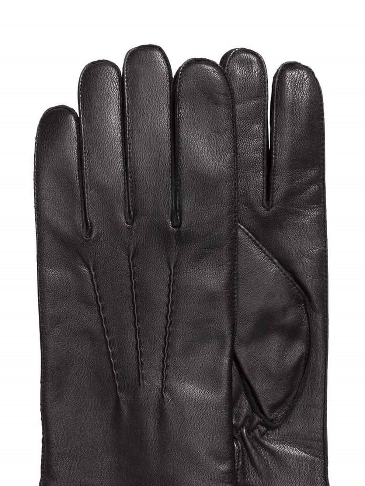 Rękawiczki skórzane, H&M, 99,90 zł