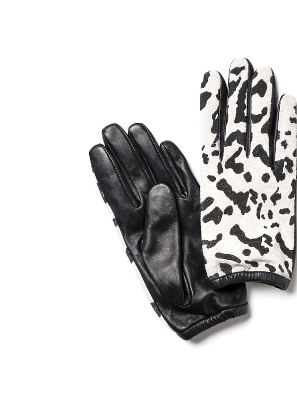 rękiwczki w czarno-białę cętki