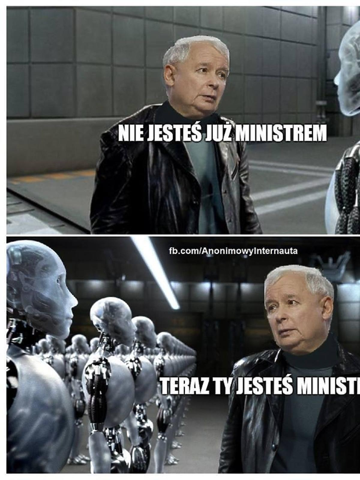 Rekonstrukcja rządu, nowe memy