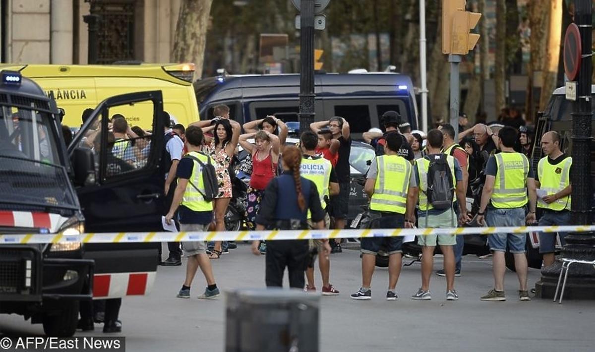 Relacja Polaka po zamachu w Barcelonie