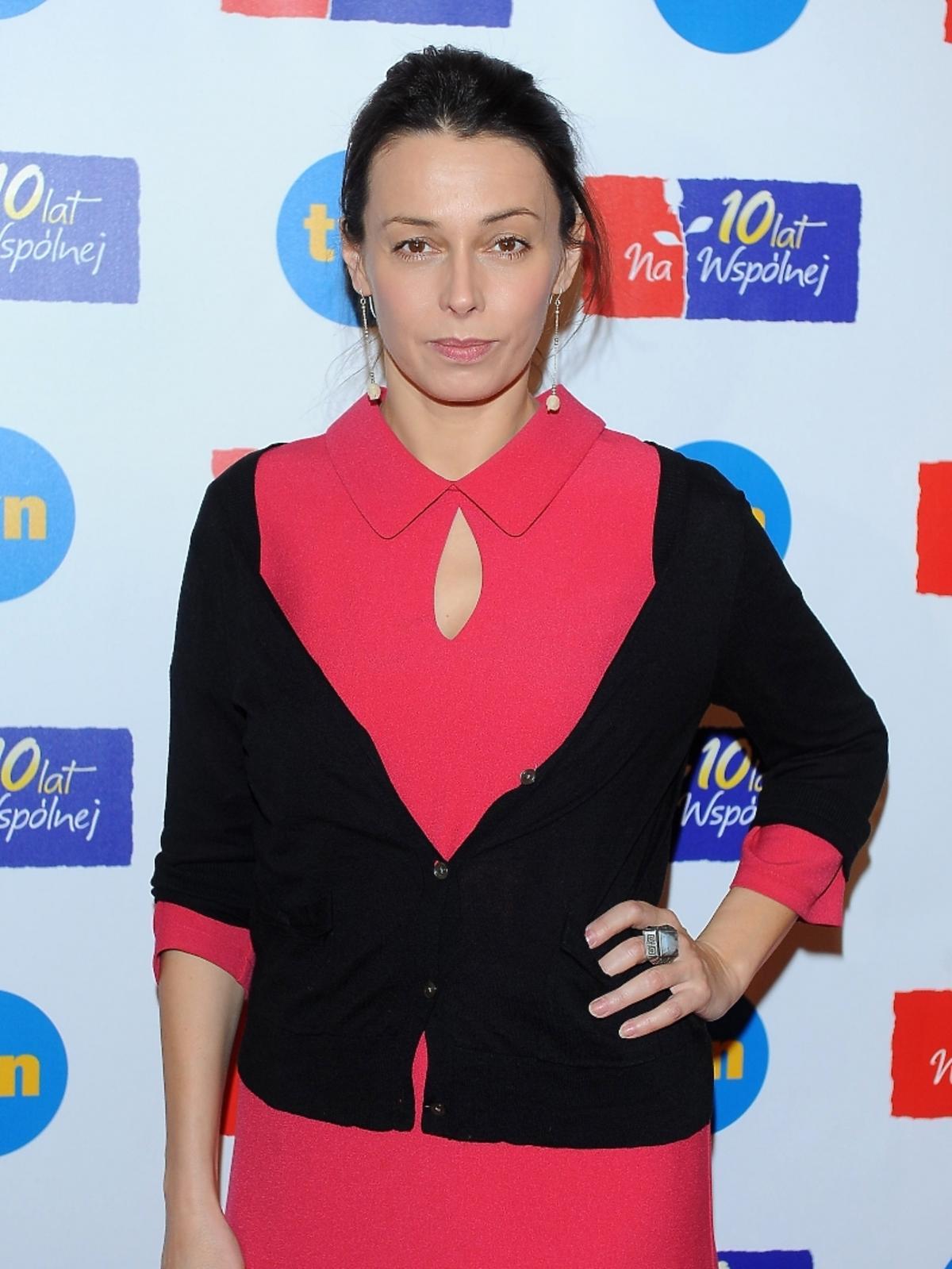 Renata Dancewicz na 10-leciu serialu