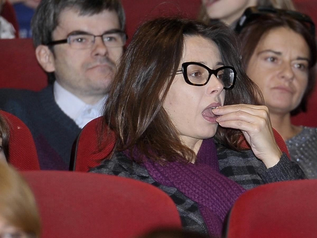 Renata Dancewicz na premierze filmu