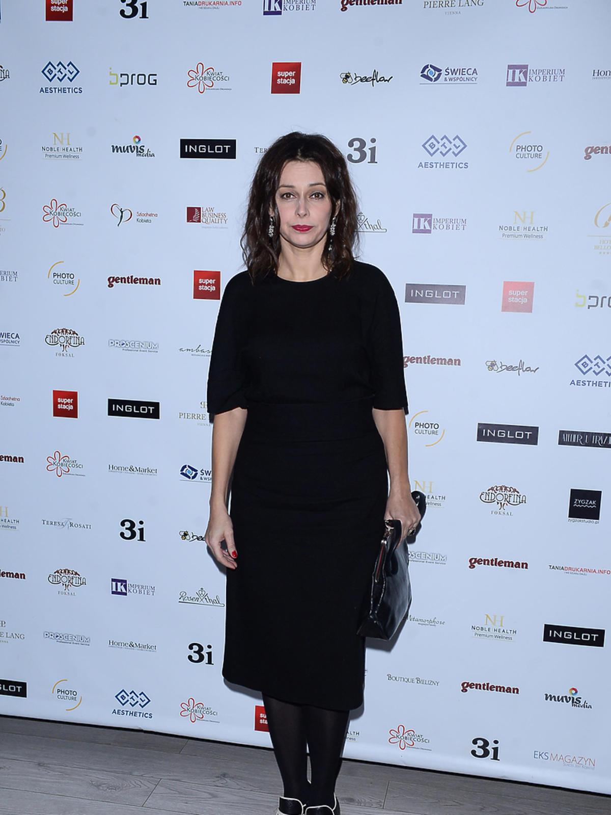 Renata Dancewicz na premierze kalendarza Szlachetna Kobieta