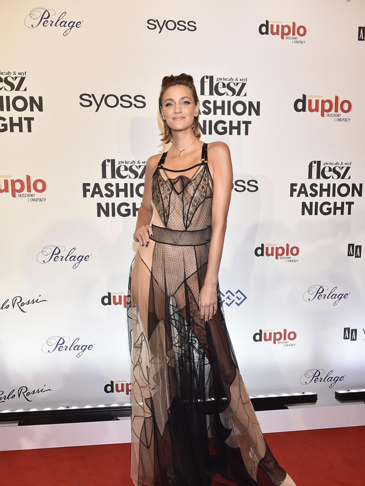 Renata Kaczoruk na Flesz Fashion Night 2021