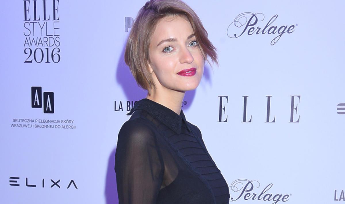 Renata Kaczoruk na imprezie magazynu Elle