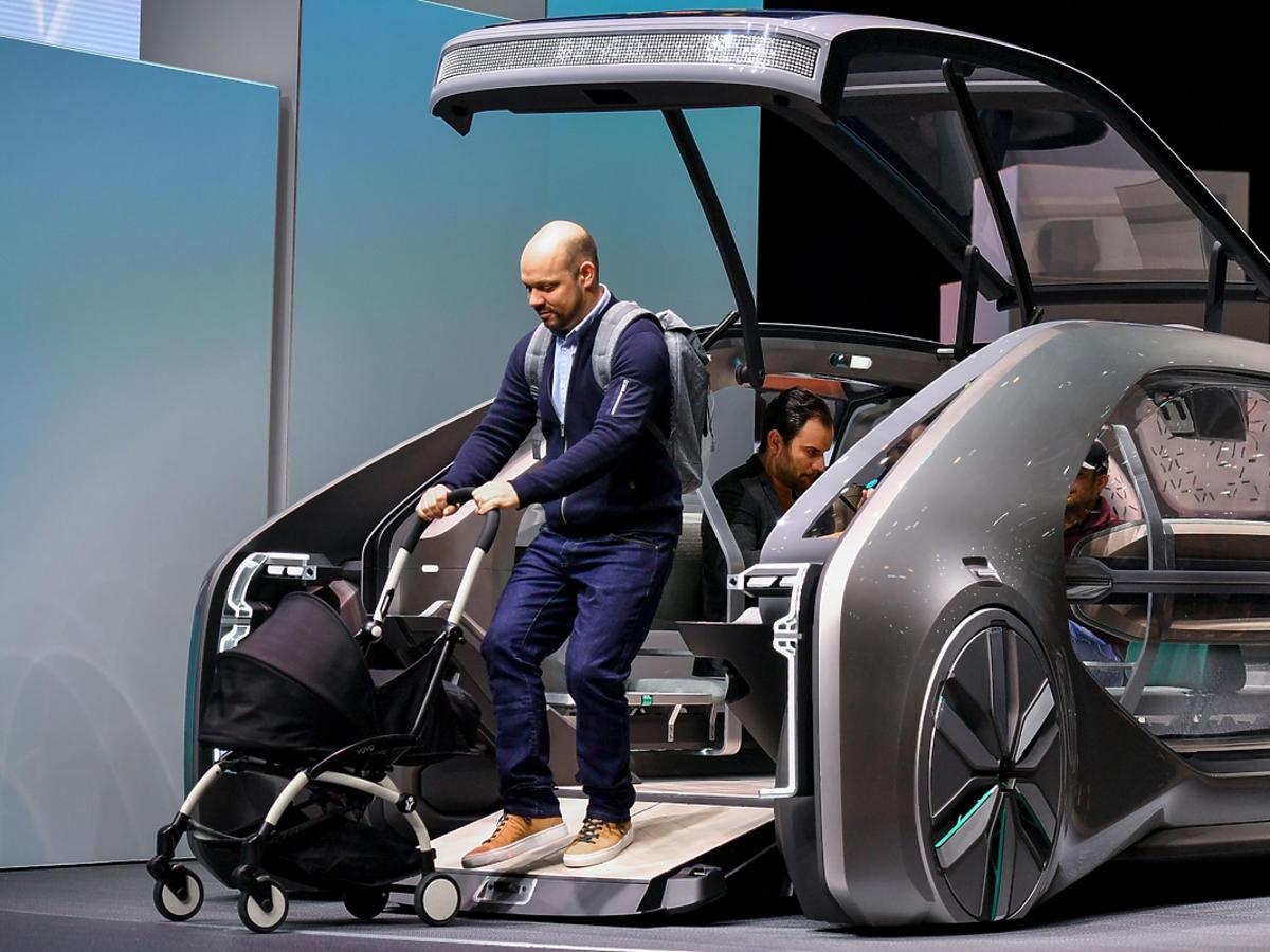 Renault EZ-GO, jedna z premier Geneva Motor Show