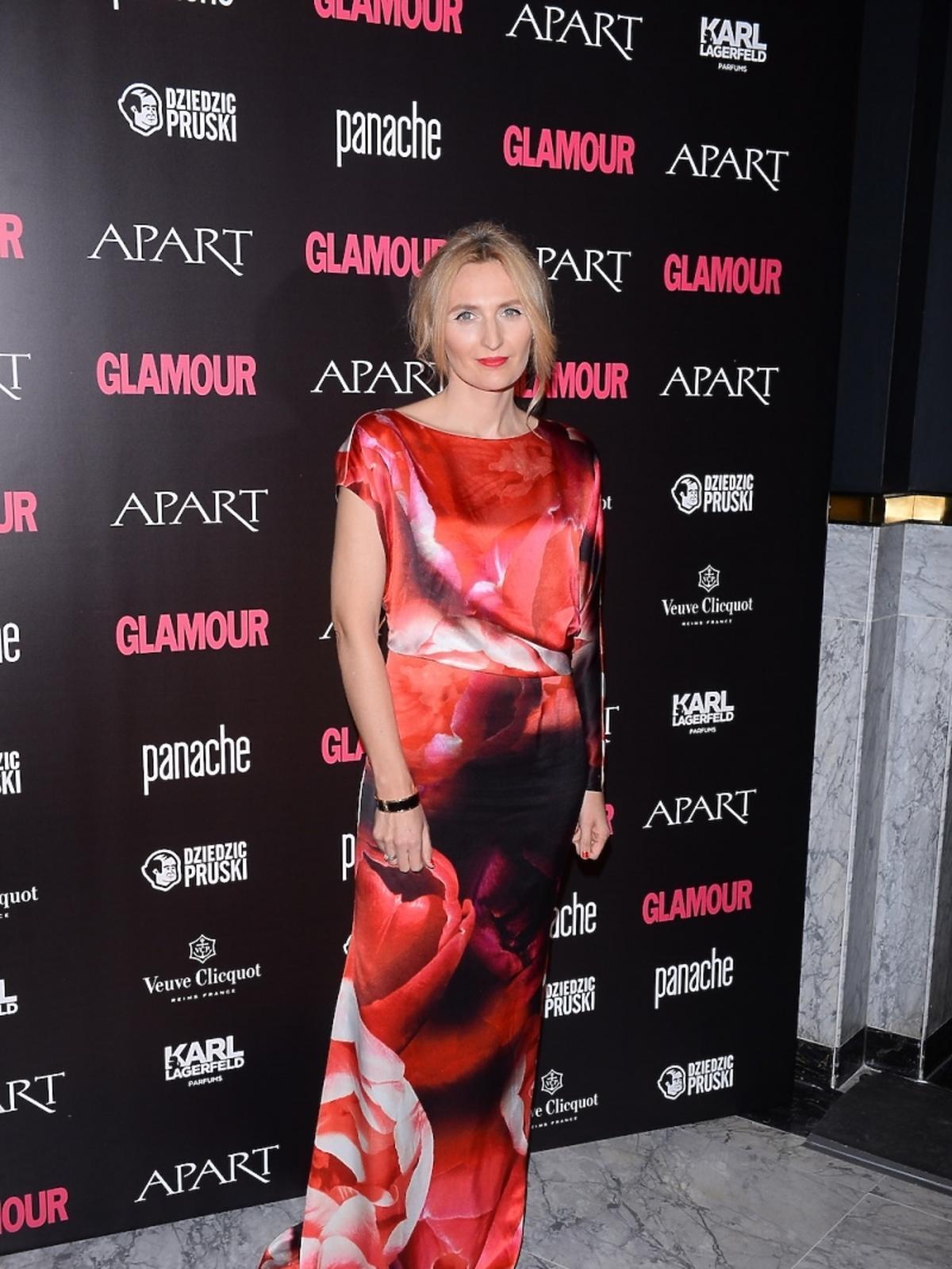 Reni Jusis na Kobieta Roku Glamour 2014