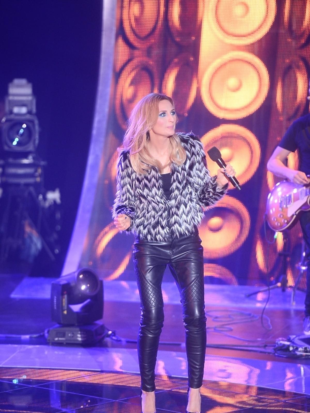Reni Jusis w pierwszym odcinku programu SuperStarcie