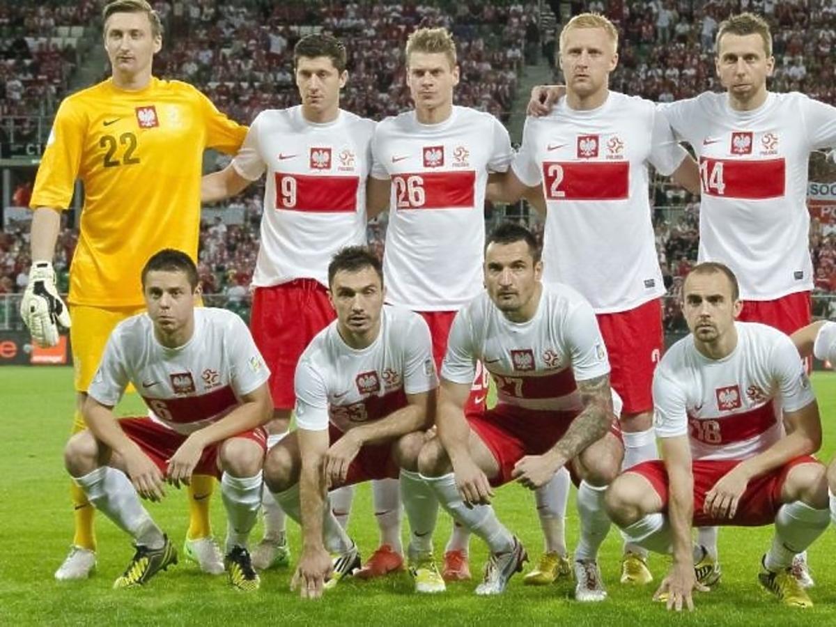 Reprezentacja Polski na boisku
