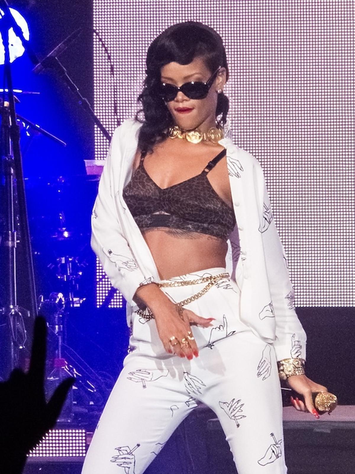 Rihanna dała prywatny koncert w Londynie
