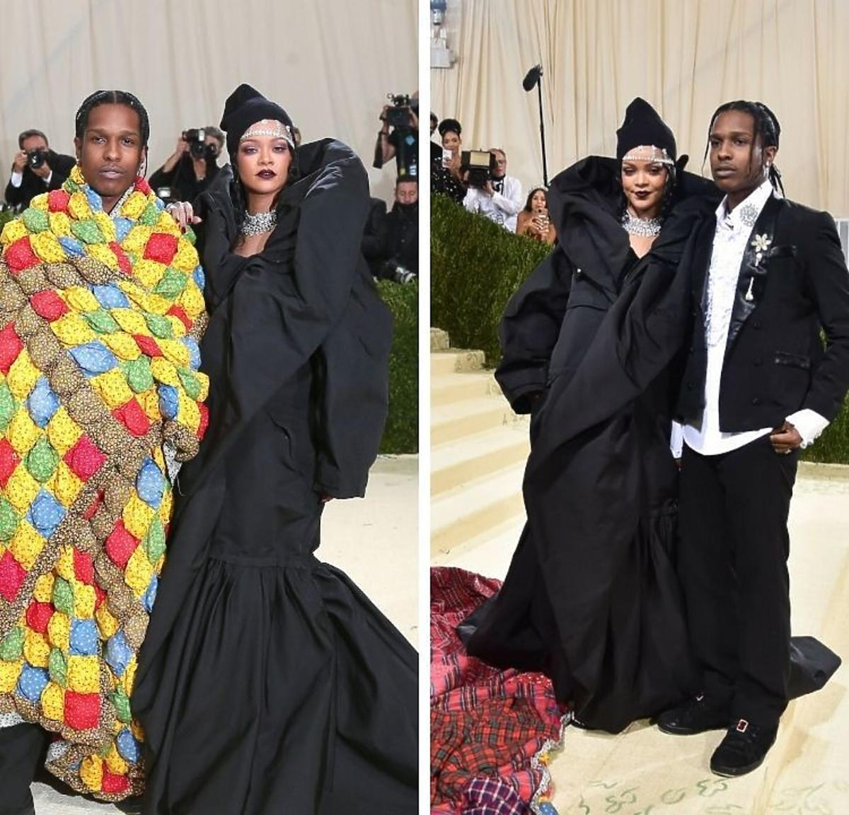 Rihanna i A$AP Rocky zadebiutowali na MET Gala