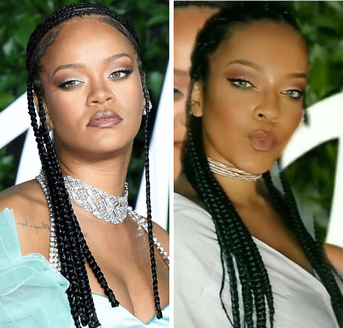 Rihanna i Priscilla Beatrice