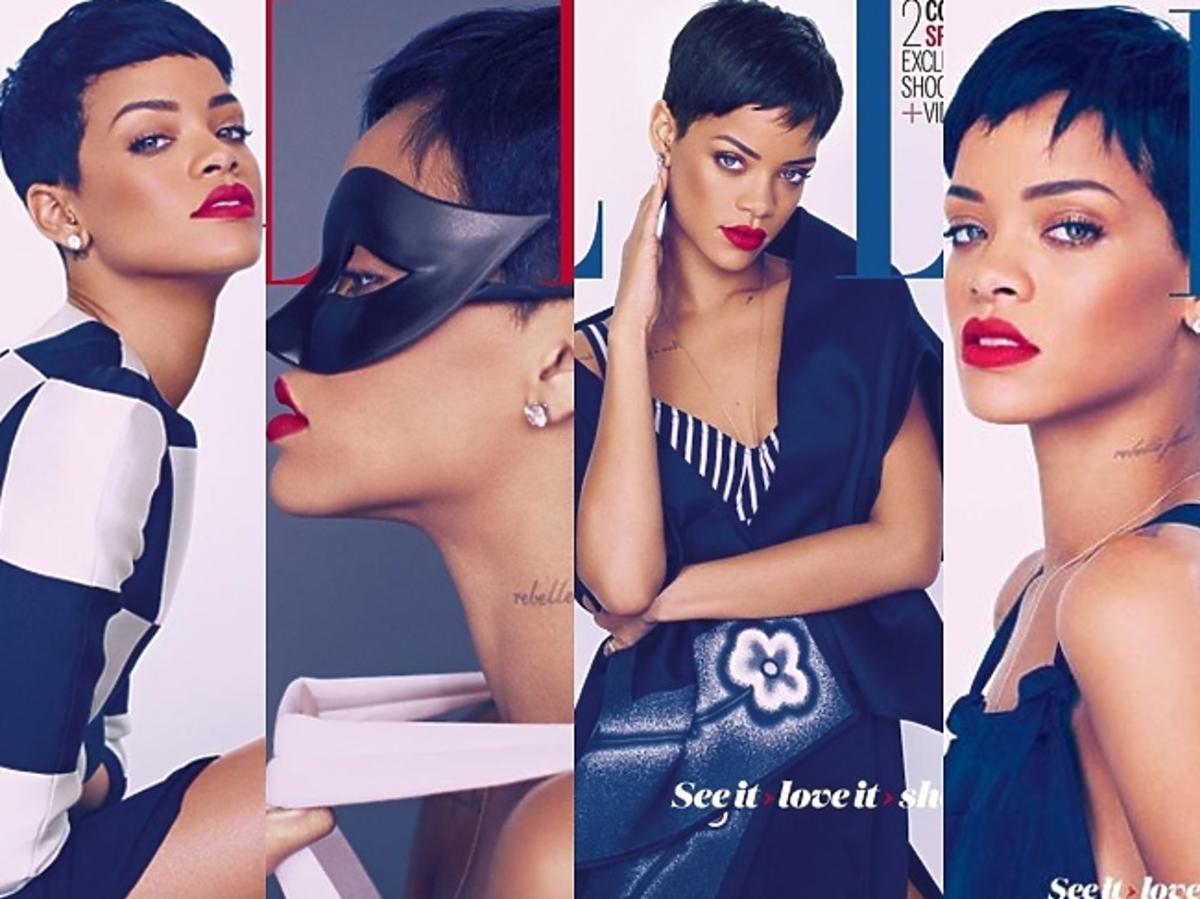 Rihanna na okładkach brytyjskiego Elle