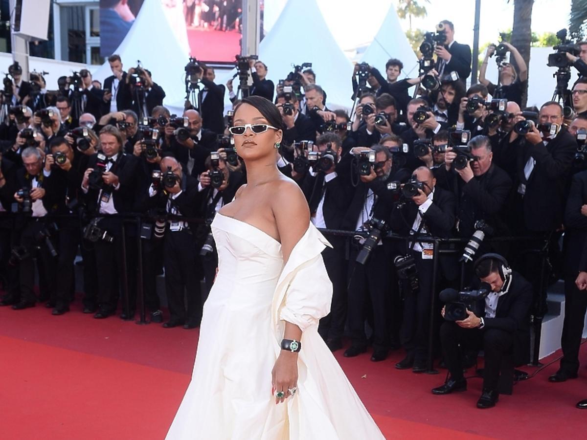 Rihanna w sukni Dior haute couture