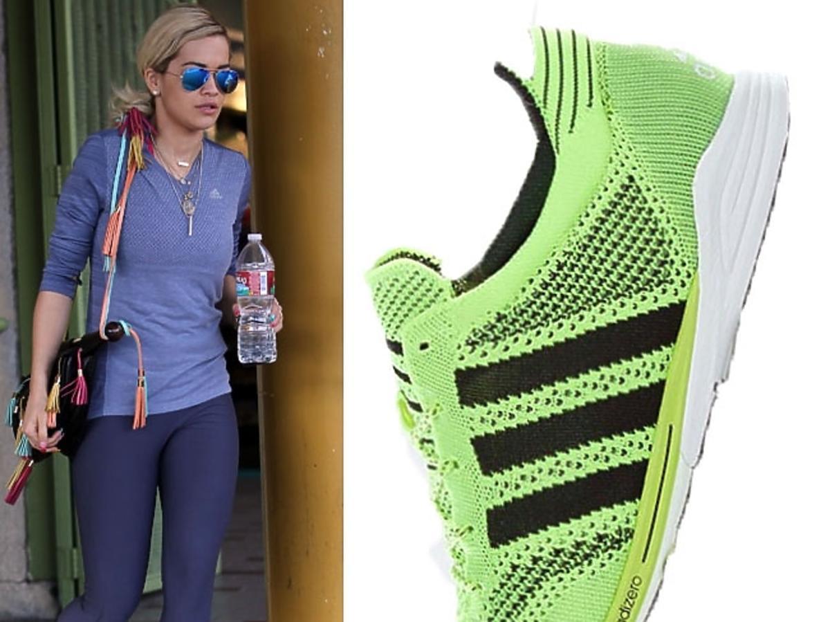 Rita Ora - buty adidas running