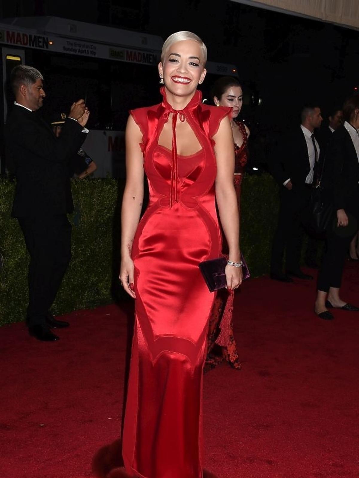 Rita Ora na gali MET 2015