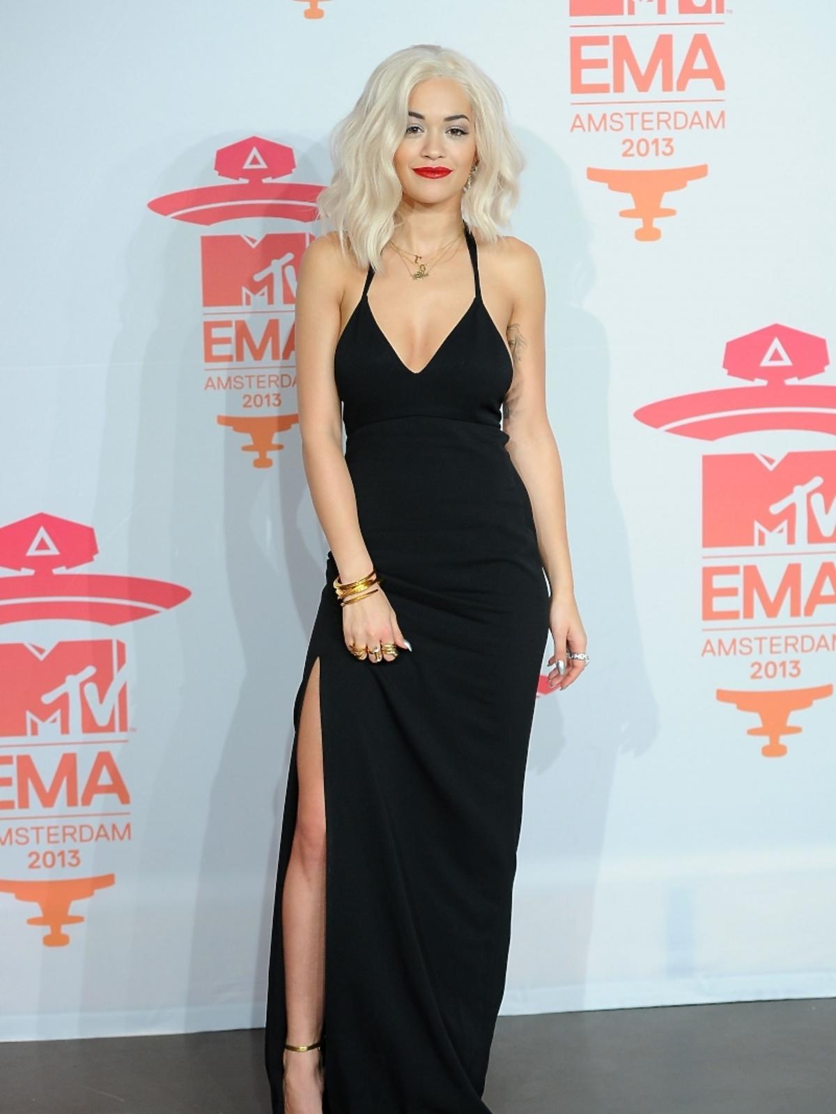 Rita Ora na gali MTV EMA 2013 w Amsterdamie