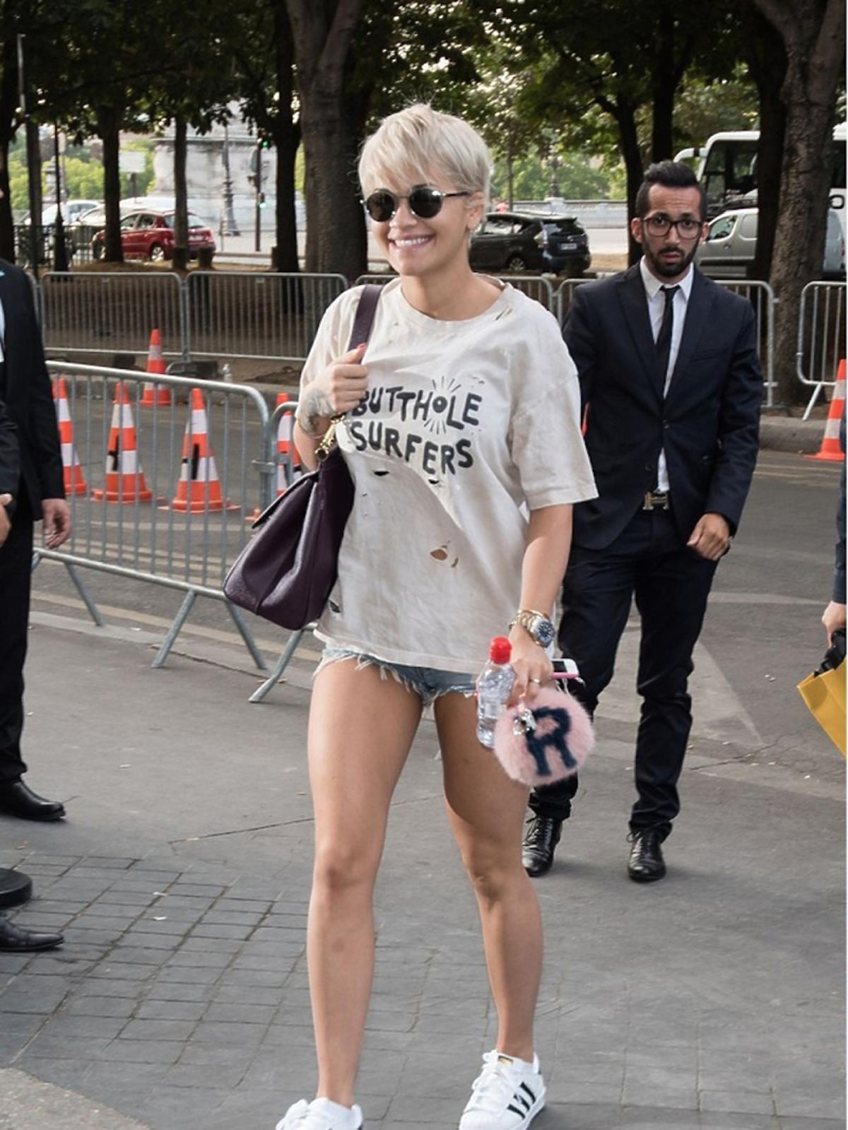 Rita Ora na pokazie Chanel