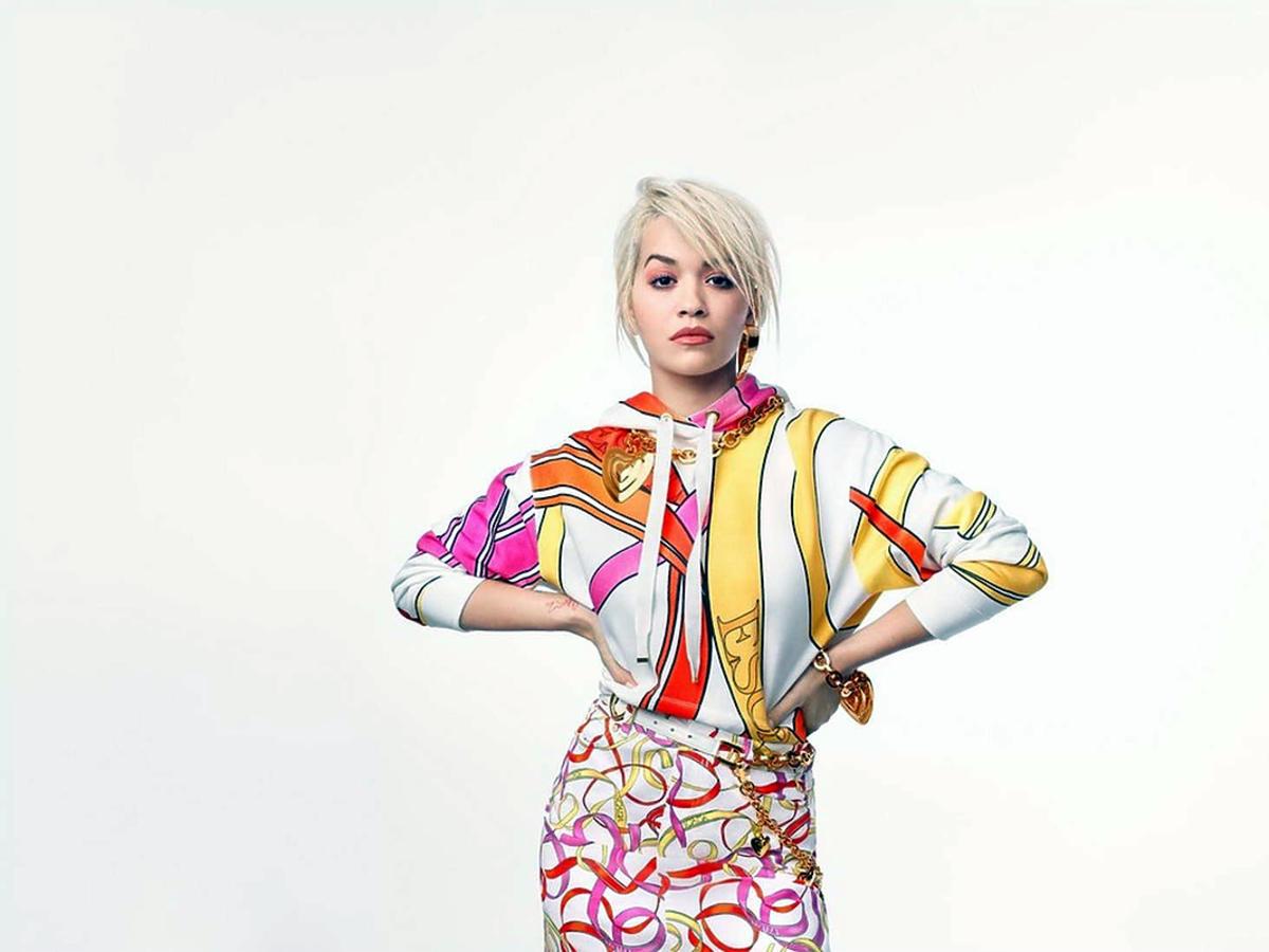 Rita Ora w kampanii Escada