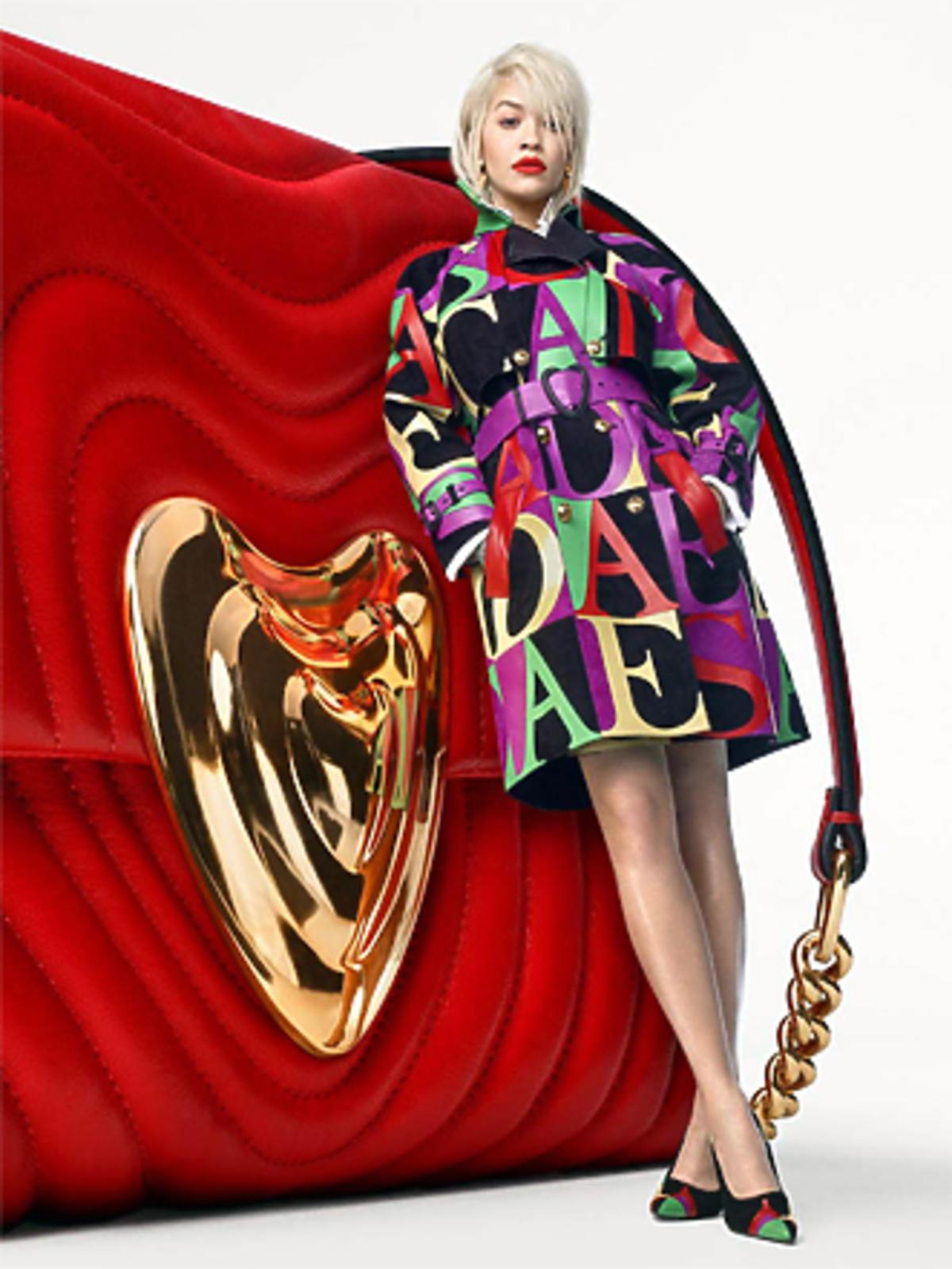 Rita Ora w nowej kampanii Escada