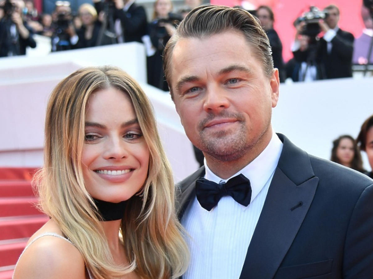 Robbie Margot Leonardo DiCaprio