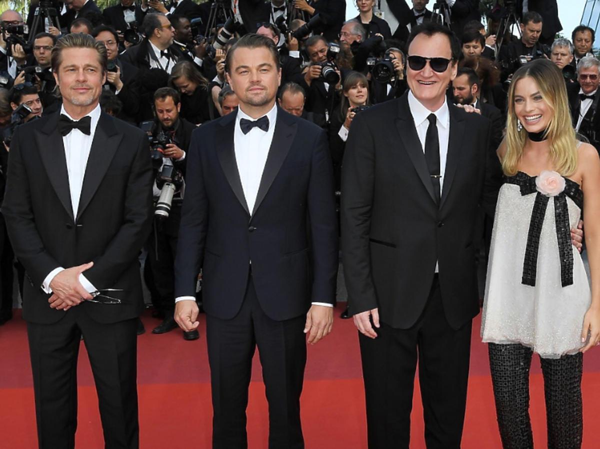 Robbie Margot Leonardo DiCaprio Brad Pitt Quentin tarantino