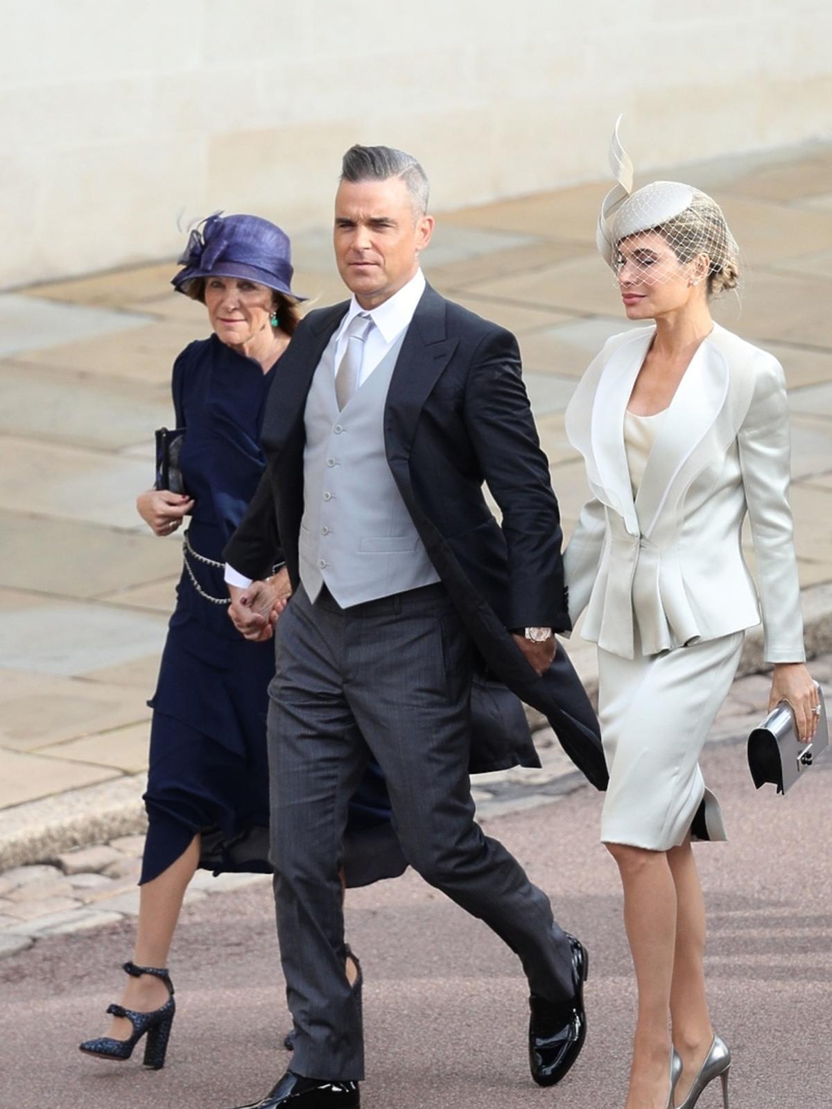 Robbie Williams na ślubie księżniczki Eugenii