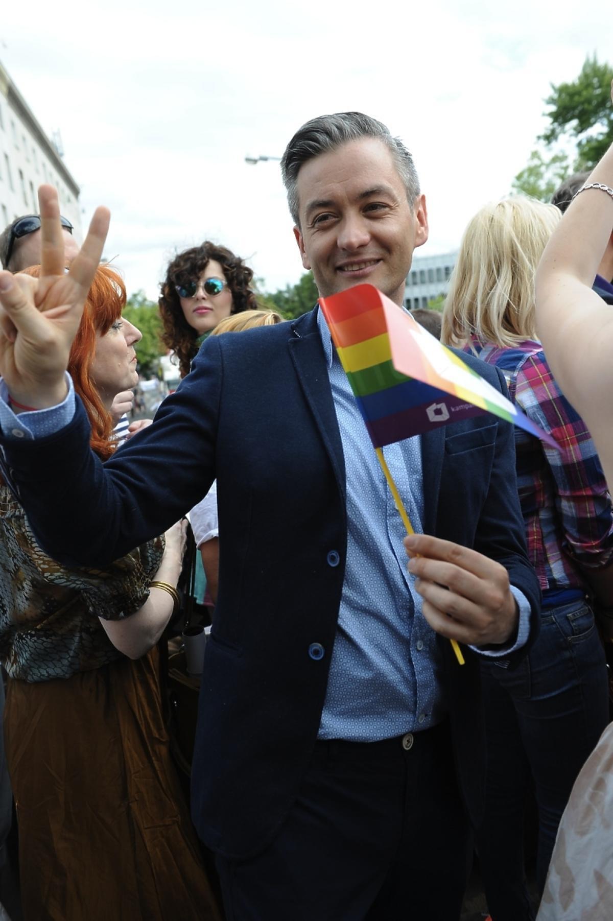 Robert Biedroń na Paradzie Równości 2013