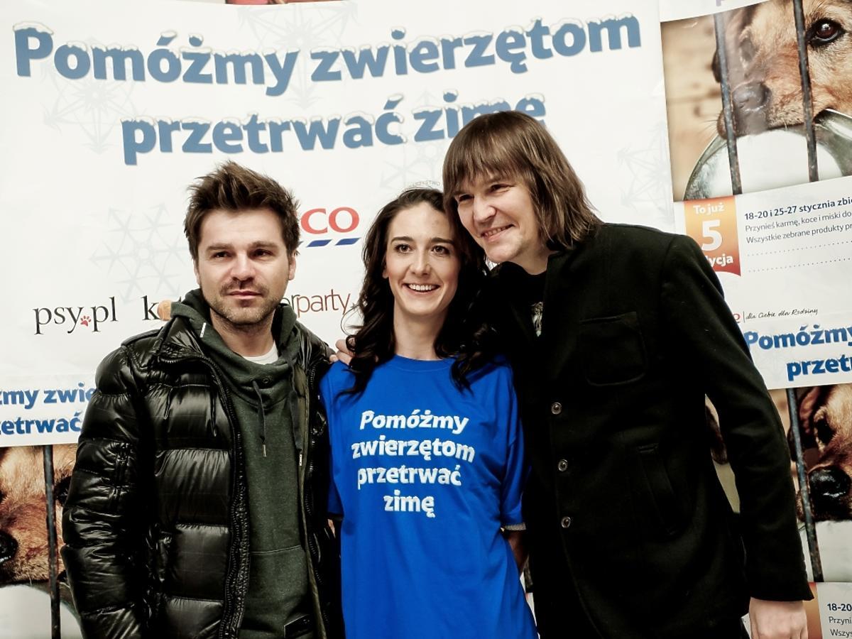 Robert Gawliński i Łukasz Zagrobelny wspierają akcję Pomóż zwierzętom przetrwać zimę