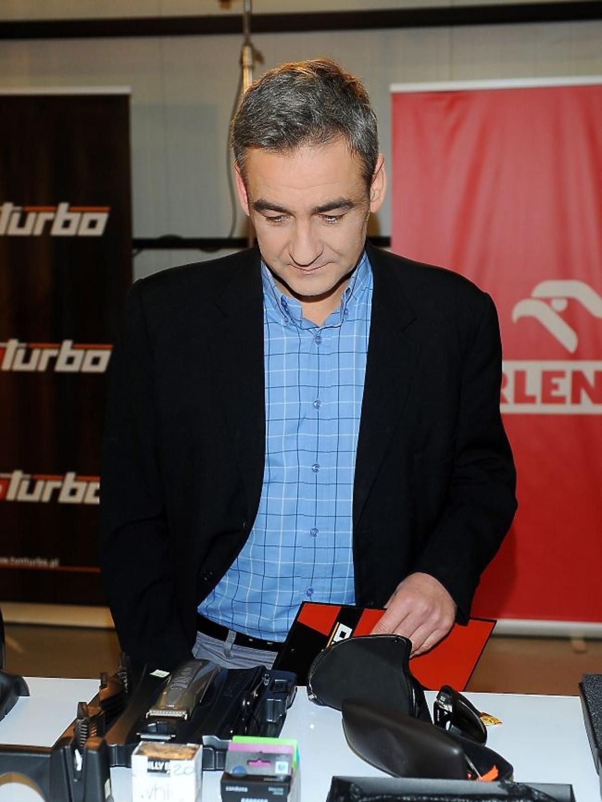 Robert Gonera podczas obrad jury plebiscytu Męska Rzecz 2012