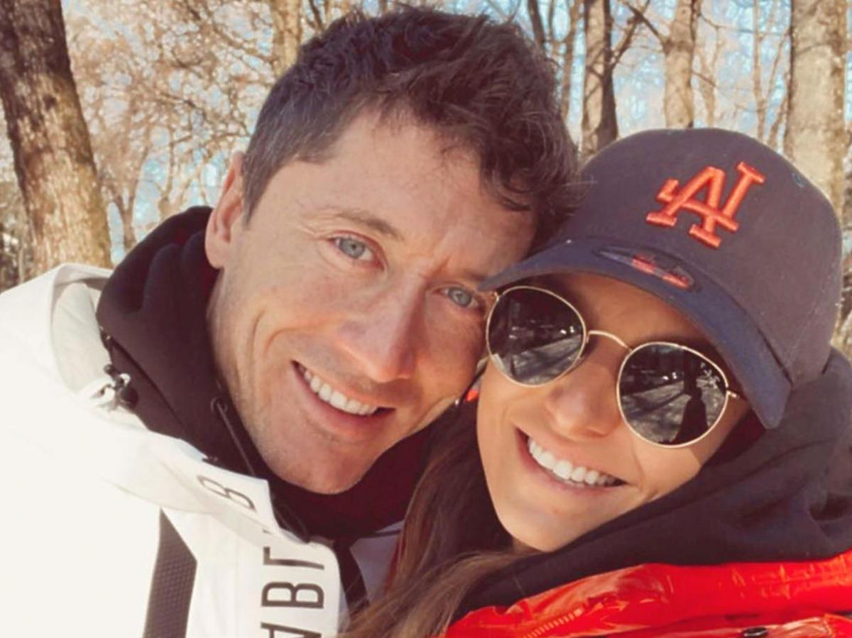 Robert i Ania Lewandowscy, zdjęcie z Instagrama