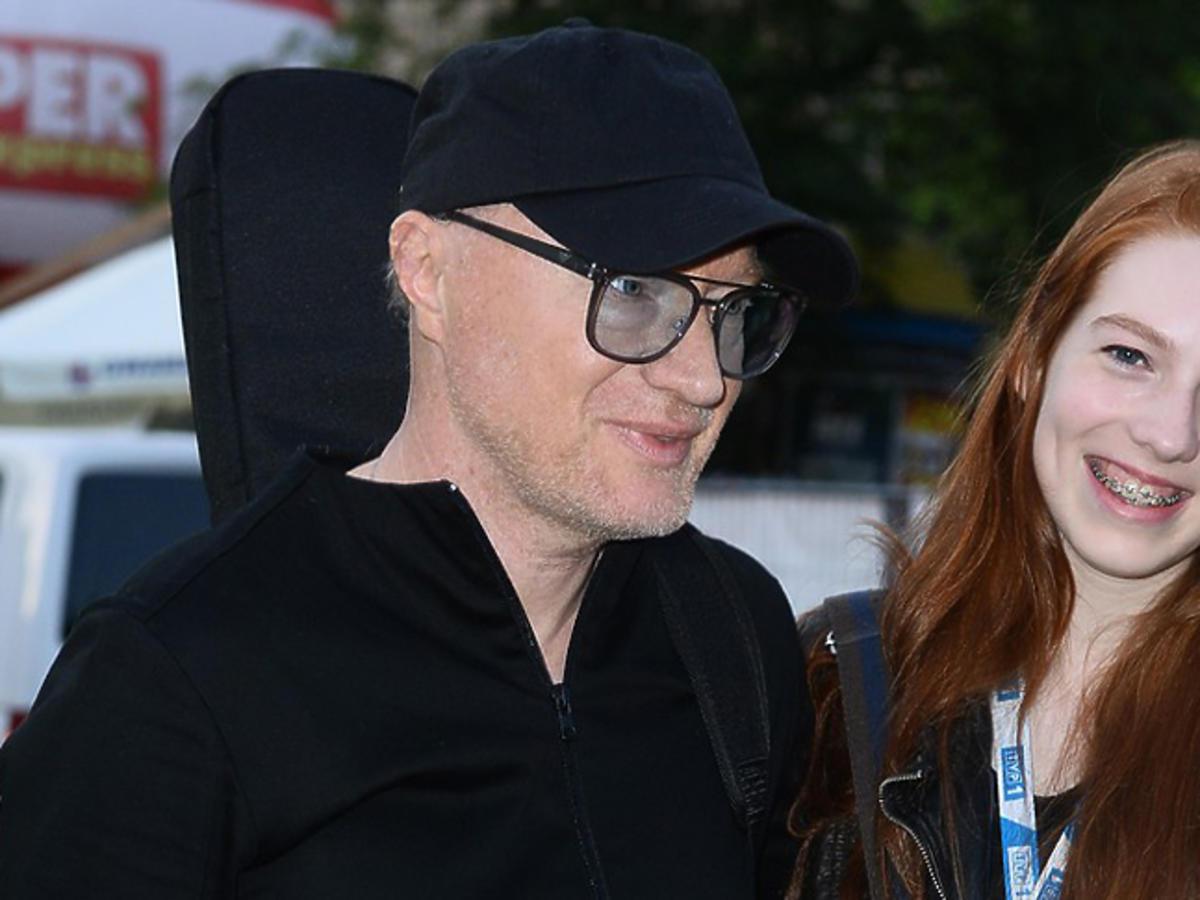 Robert Janson z córką Emmą