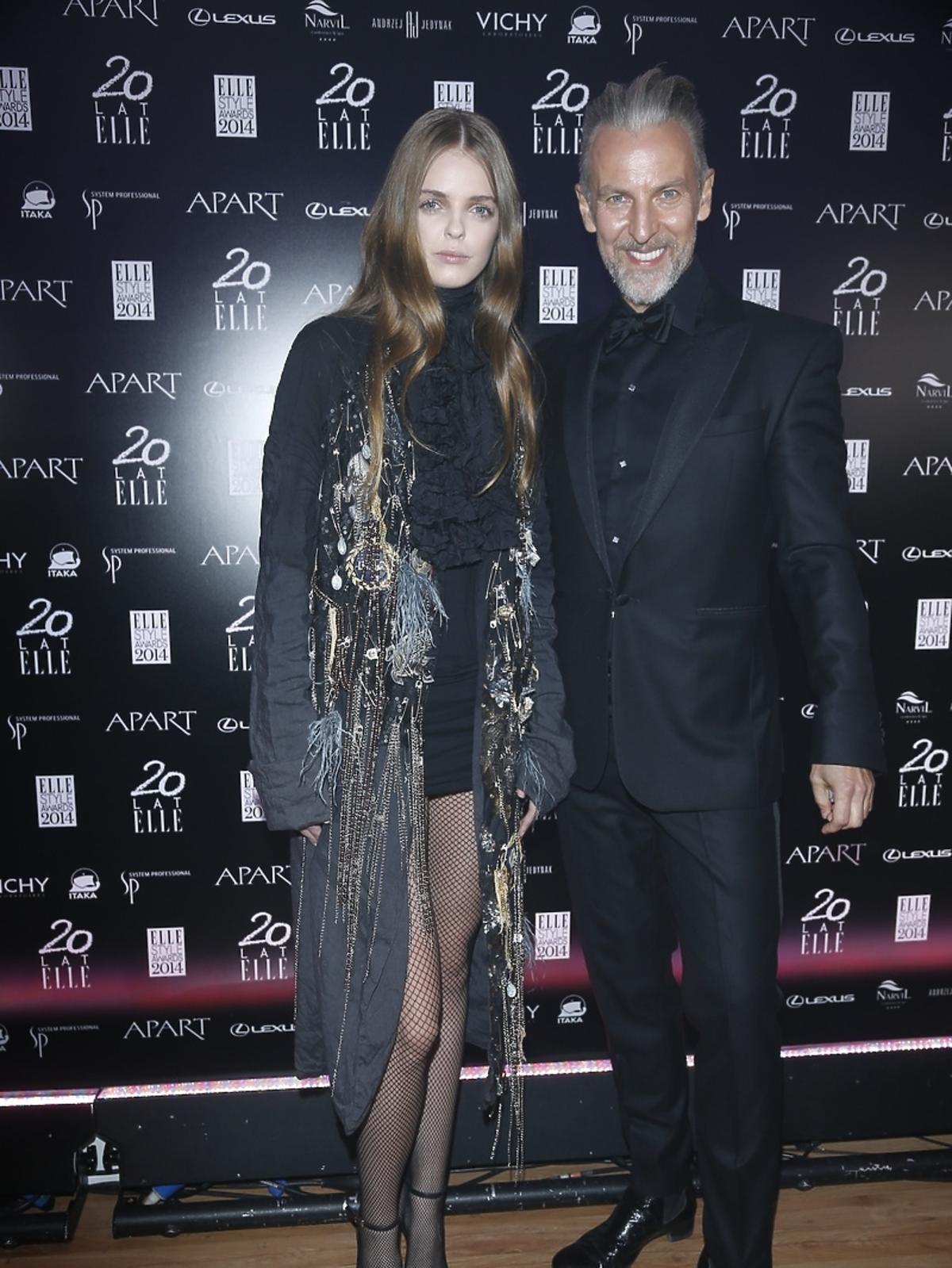 Robert Kupisz na Elle Style Awards 2014