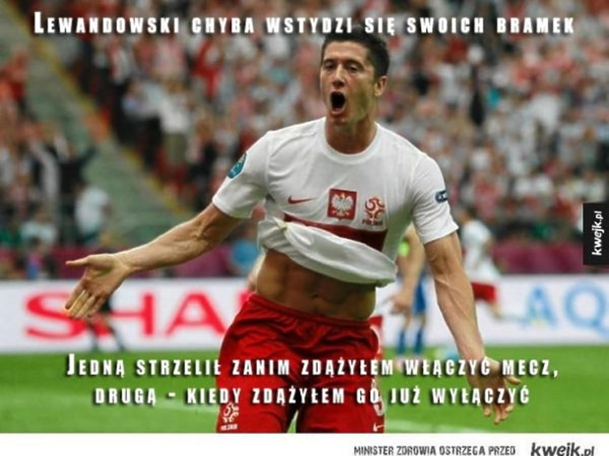Robert Lewandowski bohaterem memów