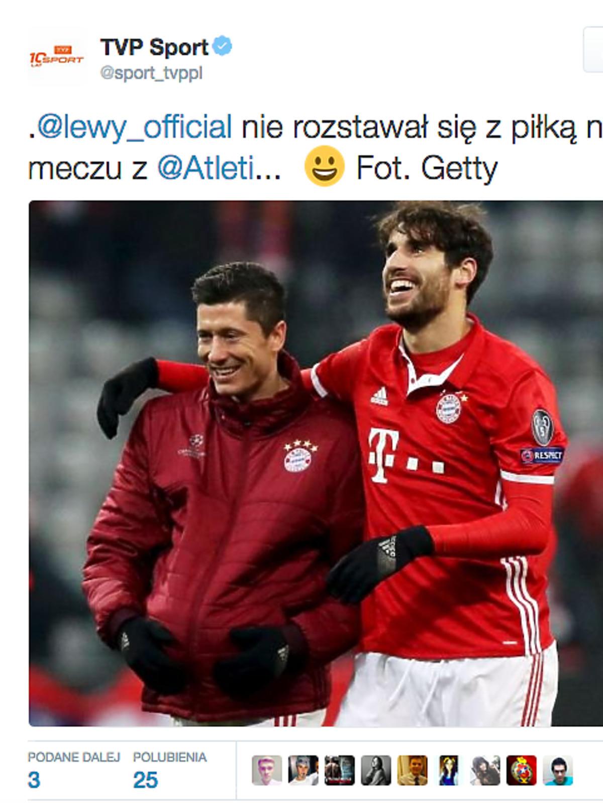 Robert Lewandowski cieszy się, że będzie ojcem