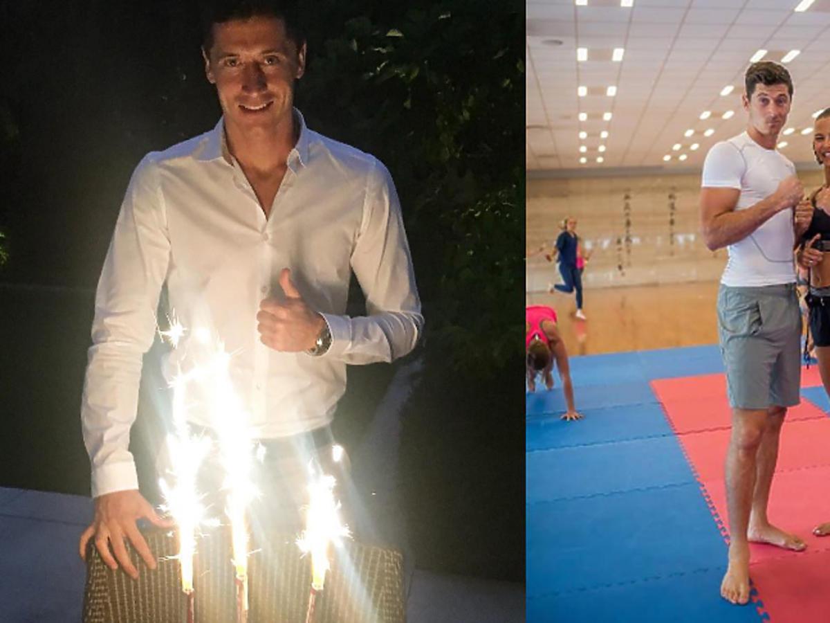 Robert Lewandowski dziękuje Ani za niespodzianki z okazji urodzin