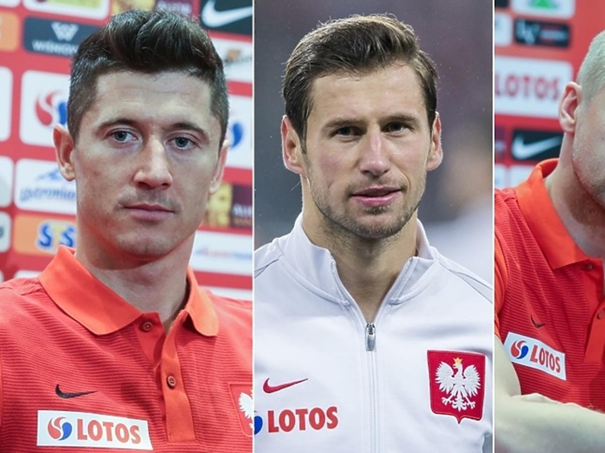 Robert Lewandowski, Grzegorz Krychowiak, Kamil Glik